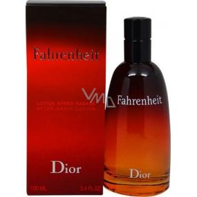 Christian Dior Fahrenheit voda po holení s rozprašovačem 100 ml