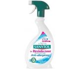 SANYTOL Antialergénne dezinfekčné univerzálny čistiaci prostredia rozprašovač 500 ml