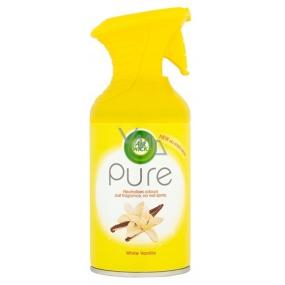 Air Wick Pure Biely kvet vanilky osviežovač vzduchu sprej 250 ml