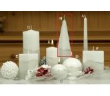 Lima Artic sviečka biela ihlan 75 x 250 mm 1 kus