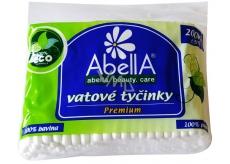 Abella Premium vatové tyčinky sáčok 200 kusov