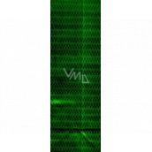 Nekupto Darčeková papierová taška na fľašu 33 x 10 x 9 cm Zelená hologramová 113 50 THLH