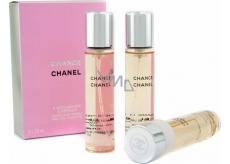 Chanel Chance toaletná voda náplne pre ženy 3 x 20 ml
