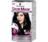 Schwarzkopf Color Mask barva na vlasy 100 Černý
