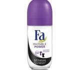 Fa Sport Invisible Power guličkový antiperspirant dezodorant roll-on pre ženy 50 ml
