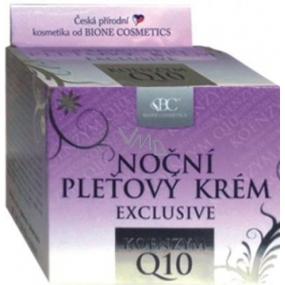 Bione Cosmetics Exclusive Q10 noční pleťový krém pro všechny typy pleti 51 ml