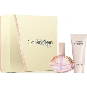 Calvin Klein Euphoria Endless parfémovaná voda 75 ml + tělové mléko 100 ml, dárková sada