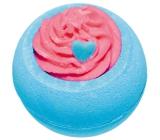 Bomb Cosmetics Borůvkový zábavný den - Blueberry Funday Šumivý balistik do koupele 160 g