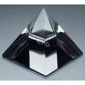Skleněná pyramida s barevným pokovem 50 mm