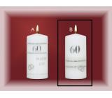 Lima Jubilejní 60 let svíčka Diamantová svatba Motiv B, 70 x 150 mm 1 kus
