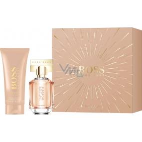 Hugo Boss Boss The Scent for Her parfémovaná voda 30 ml + tělové mléko 100 ml, dárková sada