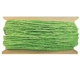 Povrázok papierový zelený 30 m