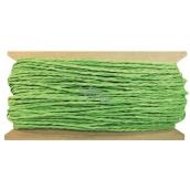 Provázek papírový zelený 30 m