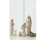 Willow Tree - Betlém - Josef, Marie s Ježíškem, pastýř s ovečkami a oslík, výška Josefa je 24 cm