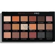Makeup Revolution Pre Regeneration paletka očných tieňov Goldmine 18 x 0,8 g