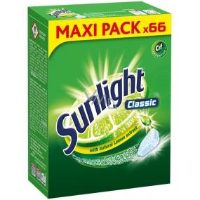 Sunlight Classic Regular tablety do umývačky riadu 66 kusov