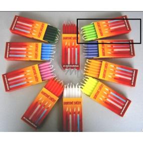 Tortové sviečky fosforové 95 x 8 mm 12 kusov
