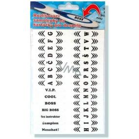 Nekupto Zubíci rozlišovací samolepky na zubní kartáčky pro dospělé 1 arch