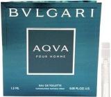 Bvlgari Aqva pour Homme toaletní voda 1,5 ml s rozprašovačem, Vialka