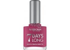 Deborah 7 Days Long Nail Enamel lak na nehty 868 Magenta Pink 11 ml