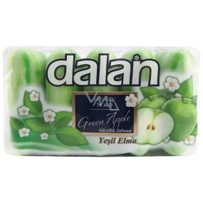 Dalan Green Apple jablko tuhé toaletné mydlo 5 x 70 g