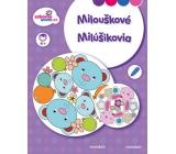Ditipo Omaľovánky Mandaly - Milouškové pre deti 4+ 16 strán