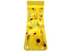 Vreckár na zavesenie žltý 712