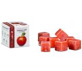 Kozák Červené jablko prírodné vonný vosk do aromalámp a interiérov 8 kociek 30 g