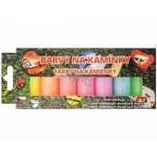 Kreativ Colour Farby na kamienky akrylové svietiace sada 7 vodou ředitekných farieb x 15 g