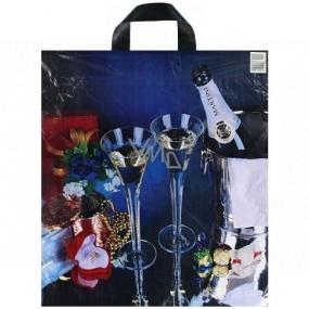 Press Igelitová taška 43 x 47 cm šampaň 1 kus