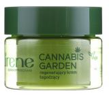 Lirene Cannabis Garden regeneračný nočný krém pre všetky typy pleti 50 ml