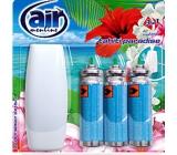 Air Menline Tahiti Paradise Happy Osvěžovač vzduchu komplet + náplně 3 x 15 ml sprej