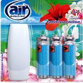 Air menłinu Tahiti Paradise Happy Osviežovač vzduchu komplet + náplne 3 x 15 ml sprej