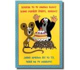 Albi Hrací přání do obálky K narozeninám Narozeninový krteček Toy Invention Toy Box 14,8 x 21 cm