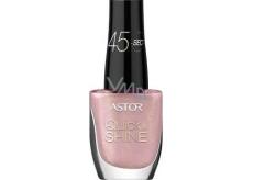 Astor Quick & Shine Nail Polish lak na nehty 619 Pink Cupcake 8 ml
