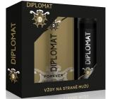 Astrid Diplomat Forever toaletní voda pro muže 100 ml + deodorant sprej pro muže 150 ml, dárková sada