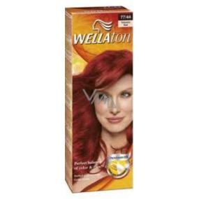 Wella Wellaton krémová farba na vlasy 77-44 ohnivá červená