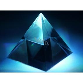 Sklenená pyramída 10 cm