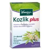 Kneipp Kozlík Plus doplnok stravy na podporu normálnej funkcie nervového systému 40 dražé