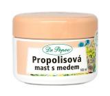 Dr. Popov Propolisová masť s medom na popraskanú pokožky, jazvy, vrásky, kožné problémy, slnečné žiarenie 100 ml