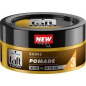 Taft Looks Shine Pomade lesklá pomáda na vlasy, fixace účesu s efektem vysokého lesku 75 ml