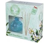 Ren Jest Jazmín a Zelený čaj dizajn aróma difuzér s prírodnými ratanovými tyčinkami pre postupné uvoľňovanie vône 100 ml
