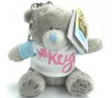 Me to You Kľúčenka plyšová Macko s tričkom a nápisom My Keys 8 cm