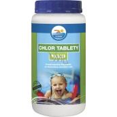 Probazen Chlór tablety Maxi prípravok na úpravu vody v bazénoch 1 kg