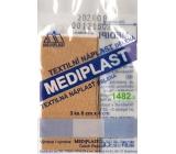 Mediplast textilní náplast dělená 8 cm x 4 cm 3 kusy