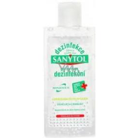 SANYTOL Dezinfekcia dezinfekčný gél na ruky 75 ml