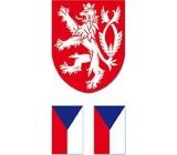 Arch Tetovacie obtlačky na tvár i telo Slovenská vlajka 5 motív
