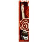Nekupto Twister Lžička se jménem Karolína červená 16 cm 1 kus
