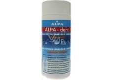 Alpa-Dent s bieliacimi účinkami prípravok na čistenie umelého chrupu 150 g