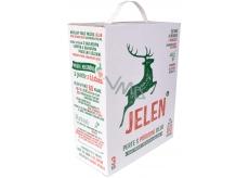 Jeleň Mydlový prací prášok krabica 60 dávok 3 kg